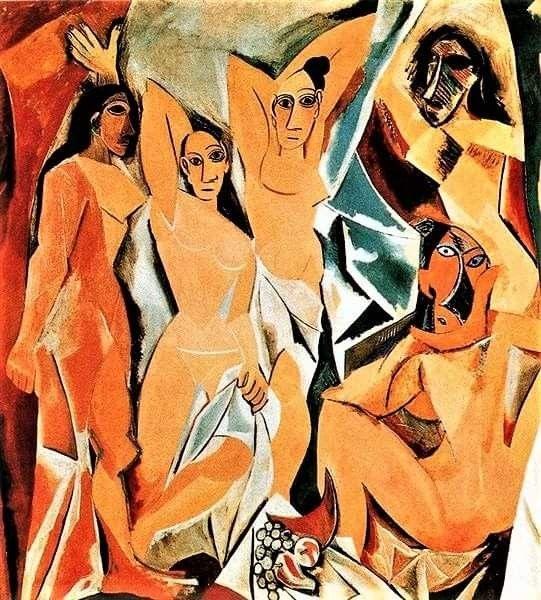 "Les demoiselles d'Avigno, l'opera in cui Picasso distrusse l'arte figurativa, ""realistica"" e creò l'arte moderna"